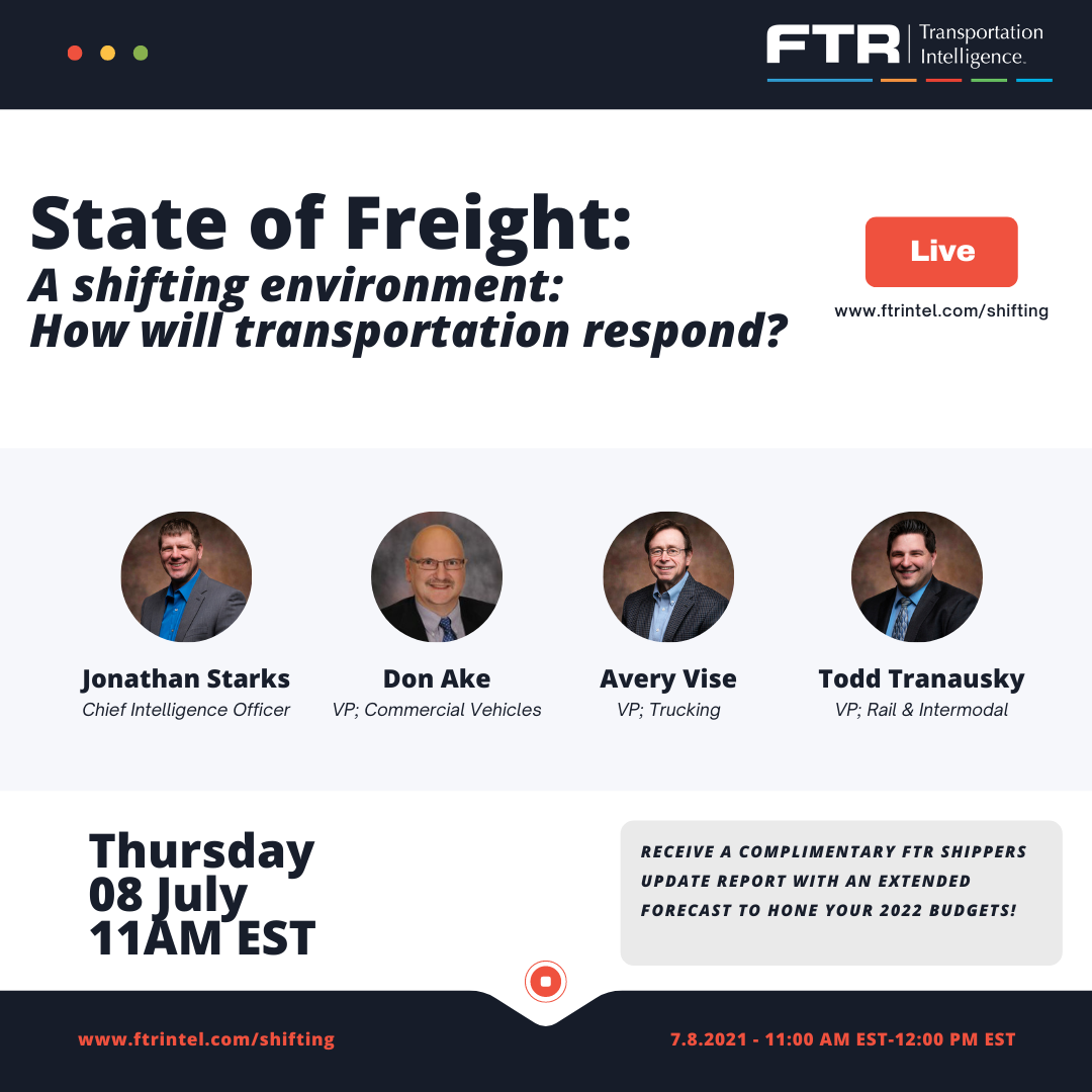 State of Freight for July 8